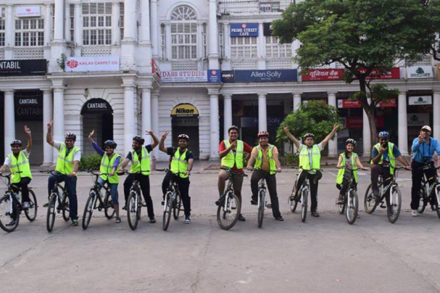 New Delhi Cycling Tour by SpinMonkey