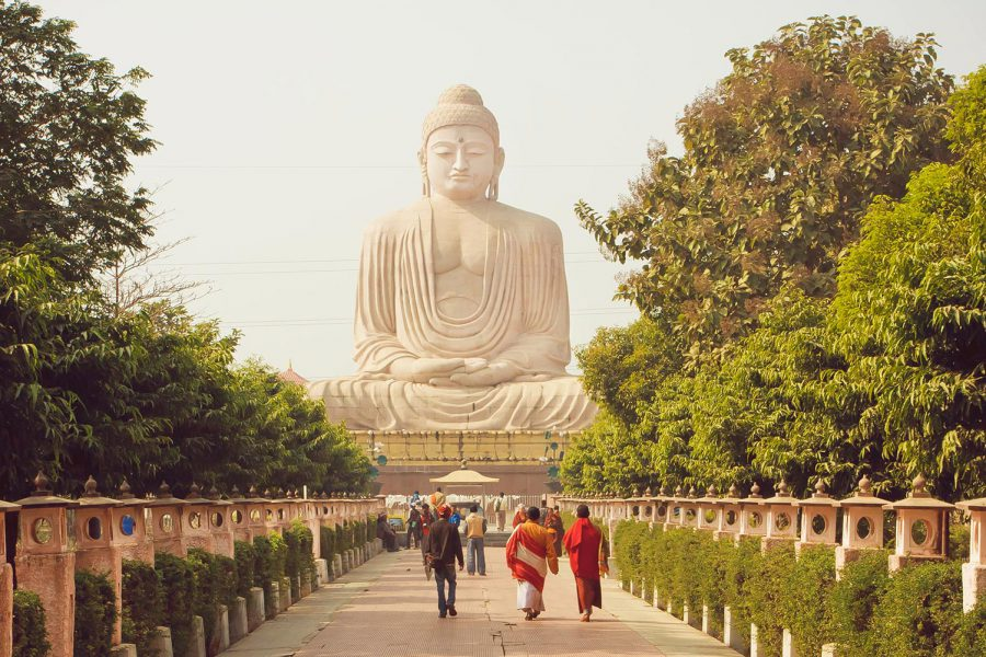 The 7 spots at the Mahabodhi Temple which can be applied to our daily lives